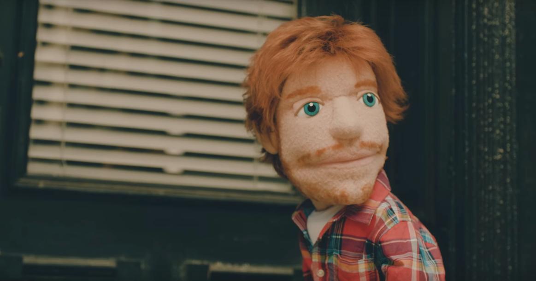 Ed sheeran vira um fantoche no clipe de happier stopboris Images