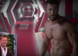 Ellen faz compilado das cenas do Chris Hemsworth sem camisa na Marvel