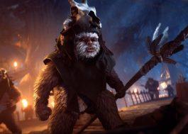 """Vai dar pra jogar com (ou contra!) os Ewoks em """"Star Wars: Battlefront II"""""""