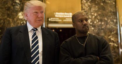 Yeezy gosta mesmo do Trump