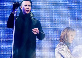 "Marilyn Manson canta ""Sweet Dreams (Are Made of This)"" no Coachella"