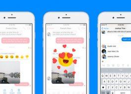 Vai dar pra deletar mensagens enviadas no Messenger!