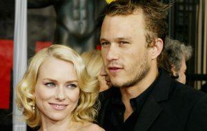 Heath Ledger faria 39 anos hoje e Naomi Watts falou sobre o ator