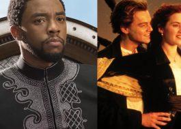 """""""Pantera Negra"""" supera """"Titanic"""" e atinge a terceira maior bilheteria da história nos EUA"""