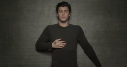 Shawn Mendes de clipe novo