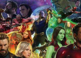 """""""Vingadores: Guerra Infinita"""" está com 87% no Rotten Tomatoes"""