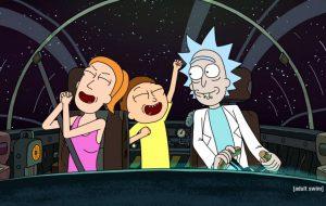 """Era mais """"Rick and Morty"""" que você queria, @? Porque é mais """"Rick and Morty"""" que você vai ter. BEM mais!"""