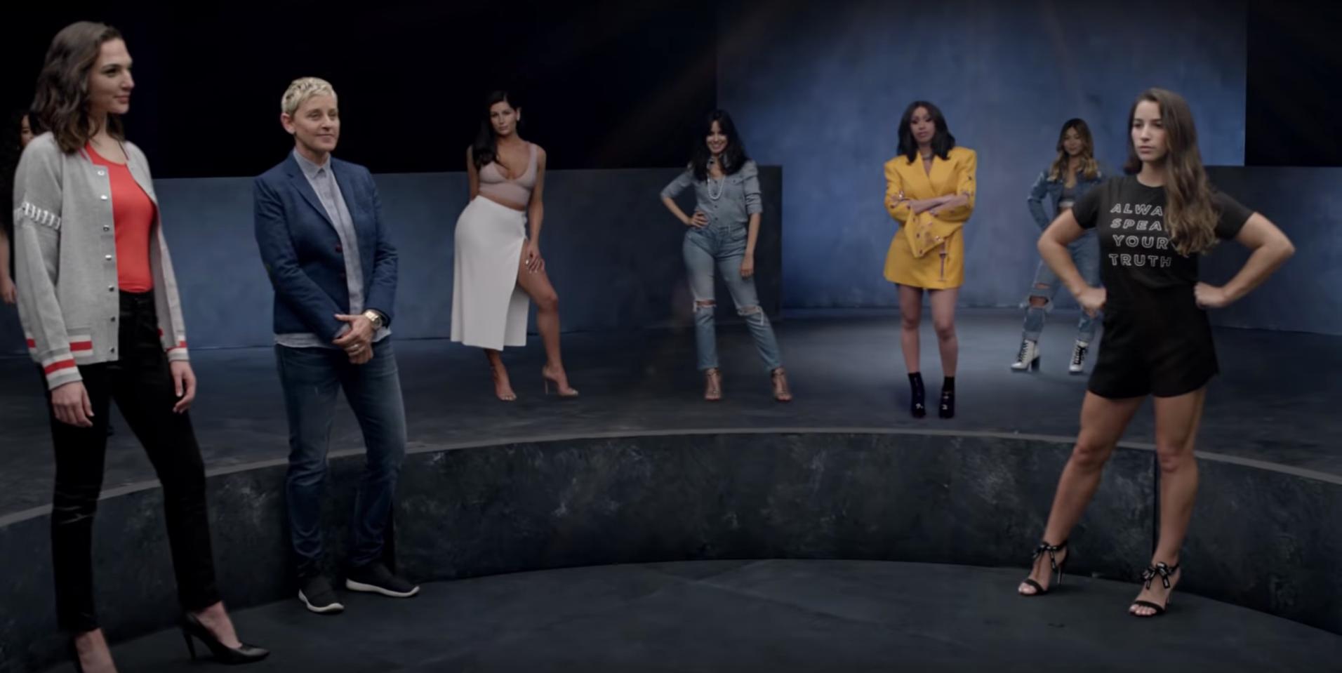 """Camila Cabello, Gal Gadot, Millie Bobbie Brown e mais um monte de minas maravilhosas no clipe de """"Girls Like You"""", do Maroon 5 feat Cardi B!"""