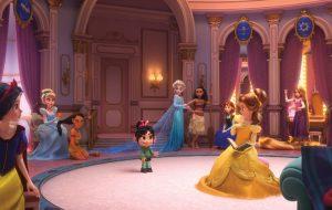 """Vanélope invade o salão das Princesas Disney em nova imagem de """"WIFI Ralph""""!"""