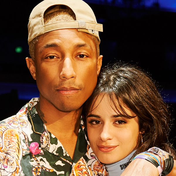 Ouça Camila + Pharrell