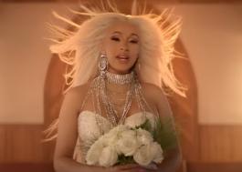 """Cardi B é uma noiva perigosa no clipe de """"Be Careful""""!"""