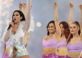 """É a Anitta da Inglaterra"": Dua Lipa se apresenta na final da Champions League"