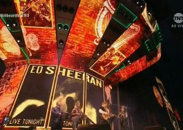 "Direto da Irlanda, Ed Sheeran mandou ""Galway Girl"" pro palco do BBMAs!"