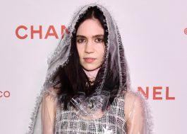 """Grimes quer mudar seu nome verdadeiro de Claire para apenas """"c"""""""