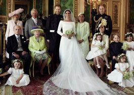 Saíram as fotos oficiais do casamento de Harry e Meghan!