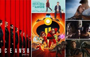 """""""Jurassic World 2"""", """"Os Incríveis 2"""" e outros 16 filmes para assistir nos cinemas em junho"""