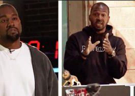Van Lathan, do TMZ, disse o que muita gente tava querendo dizer pro Kanye West. Na cara dele.