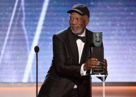 """Morgan Freeman volta a falar de acusações: """"Eu não assediei mulheres"""""""