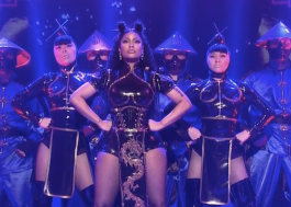 "Teve ""Chun-Li"" e ""Poke It Out"" na apresentação da Nicki Minaj no SNL! Assista!"
