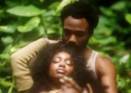 """SZA e Donald Glover formam um casal super fofo no clipe de """"Garden""""!"""