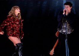 Taylor Swift chamou Shawn Mendes pra cantar com ela na Califórnia! Vem ver!