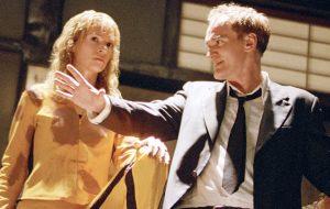 Uma Thurman só volta a trabalhar com Tarantino se ele fizer uma ótima personagem pra ela