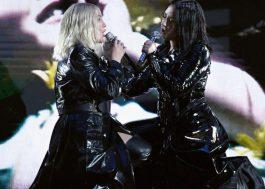Era dueto poderoso que você queria? Christina Aguilera e Demi Lovato cantam no BBMAs