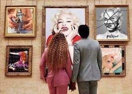 """Madonna posta meme com os Carters e brinca: """"aprendendo com a mestra"""""""