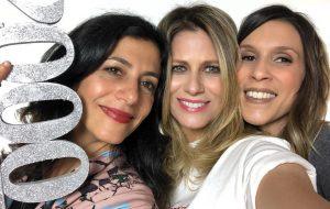 Didi Wagner, Sarah Oliveira e Marina Person postam fotos juntas e nós já queremos a volta do Disk MTV!