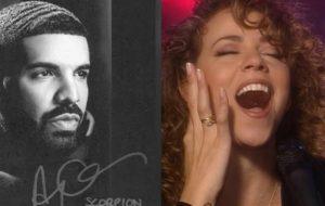 Drake, que já reviveu Lauryn Hill, faz o mesmo com Mariah Carey em nova faixa