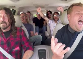 Dave Grohl relembra climão com James Corden após Carpool Karaoke do Foo Fighters
