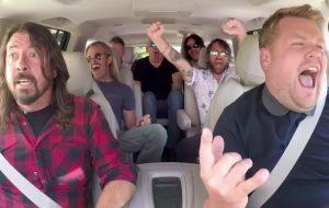 Dave Grohl relembra climão com James Corden após Carpool Karaoke do Foo Fighters