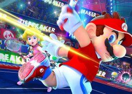 """""""Mario Tennis Aces!""""  já está disponível para Nintendo Switch e dá para comprar em reais!"""
