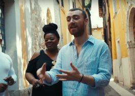 "Sam Smith grava vídeo cantando ""Baby, You Make Me Crazy"" nas ruas de Verona"