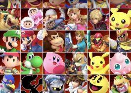 O Super Smash Bros. Ultimate, com TODOS os personagens da franquia, tá INCRÍVEL!