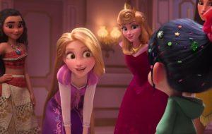 """No novo trailer de """"WiFi Ralph"""", Vanélope encontra as princesas da Disney!"""