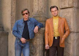 Tarantino antecipa lançamento de novo filme com Brad Pitt e Leonardo DiCaprio