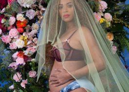 Tão dizendo que a Beyoncé tá grávida porque passou a mão na barriga no show! Oi?