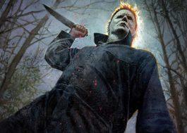 """Michael Myers está assustador em pôster inédito do novo """"Halloween"""""""
