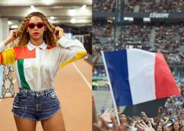 Na França, Beyoncé exibe final da Copa do Mundo no telão do show