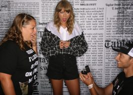 Rolou pedido de casamento no meet and greet da Taylor! <3