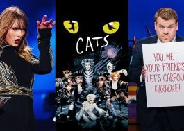 "Musical ""Cats"" vai ganhar filme com Taylor Swift e James Corden!"