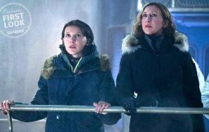 """Com Millie Bobby Brown e Vera Farmiga, novo """"Godzilla"""" ganha imagens inéditas"""