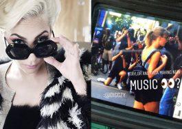 Paparazzi diz que Taylor Swift tá no estúdio da Gaga!