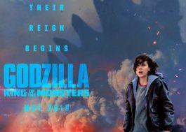 """Novo """"Godzilla"""" ganha teaser sinistro e pôster com Millie Bobby Brown"""