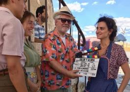 """Almodóvar já tá filmando """"Dolor y Glória"""", seu novo filme com Penélope Cruz!"""