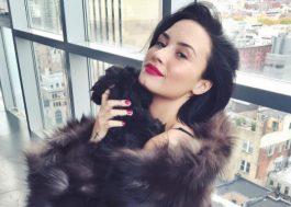 Demi Lovato é vista pela primeira vez em público desde a overdose!