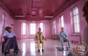 """James McAvoy, Bruce Willis e Samuel L. Jackson estão prontos para o ataque nas primeiras imagens de """"Glass"""""""