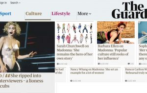 O Guardian já está celebrando os 60 anos da Madonna!