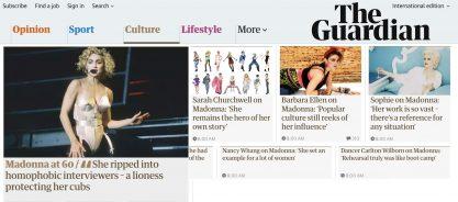 60 anos da Madonna